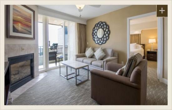 1 & 2 BEDROOM CONDOS - Living Space & Patio