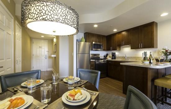 Condos - One Bedroom Kitchen