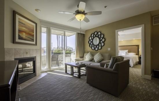 1 & 2 BEDROOM CONDOS - Two Bedroom Sitting Area