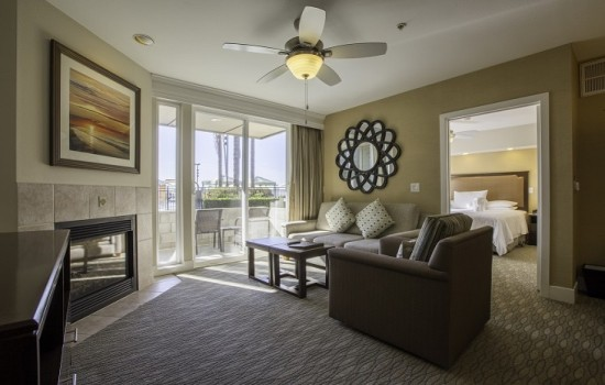 Condos - Two Bedroom Sitting Area